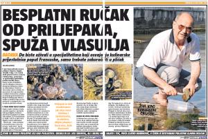 24 sata - Besplatan rucak od priljepaka, spuza i vlasulja A - 20.7.2015.