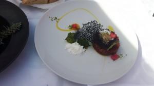 Gourmet Expo 2018- tuna tatar Zrno Soli