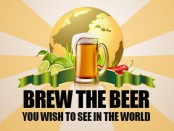 LOGO BREW MY BEER
