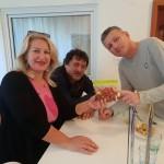 Sandra Barcot, Jakov Prkic, Bozo Vukicevic